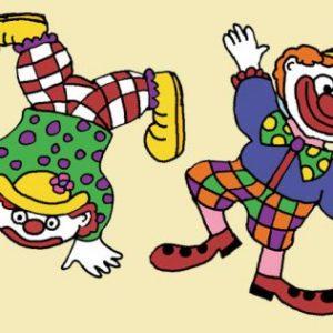 Over het circus dansen